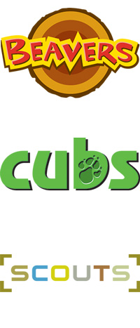Logo Beavers, Cubs and Scouts