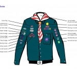 Badges Scouts position on uniform